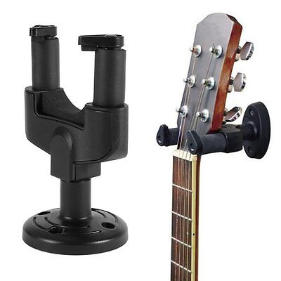Practical Electric Guitar Wall Hanger Holder Stand Hook Mount for All Size Guita