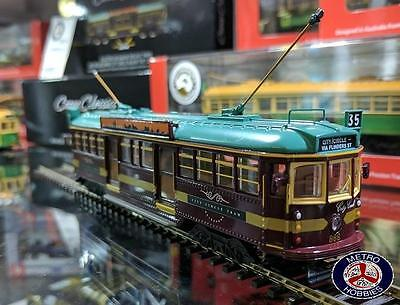 Cooee OO 12V Electric W Class Melbourne #888 The Lucky City Circle Tram - Brand