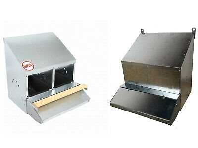 "FAMOUS 2-HOLE ""ROLL-AWAY"" CHICKEN / HEN NEST BOX (FOR UP TO 10 CHOOKS / Poultry)"