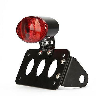 Custom License Plate Tail Light Bracket For Yamaha Cruiser V Star 250 650 XVS