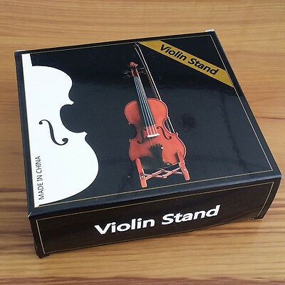 Violin Stand Shelf Steady Light Weight Fold Folding Adjustable Bow Hold fodable