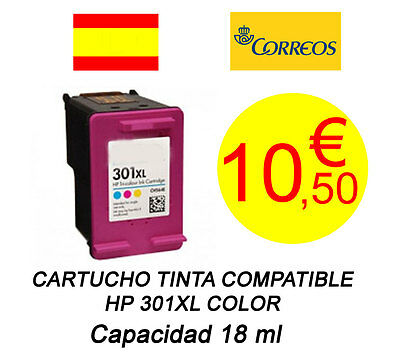 Cartucho Tinta Compatible HP 301XL Color