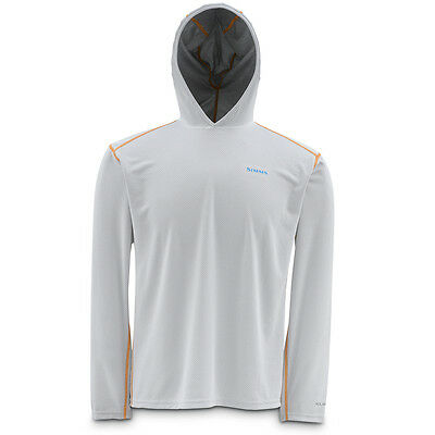 Simms Currents Hoody White - (Fishing Underwear)