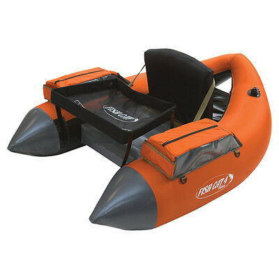 Outcast Fish Cat 4 Deluxe-LCS  - (Belly Boat, Floating Tubes)