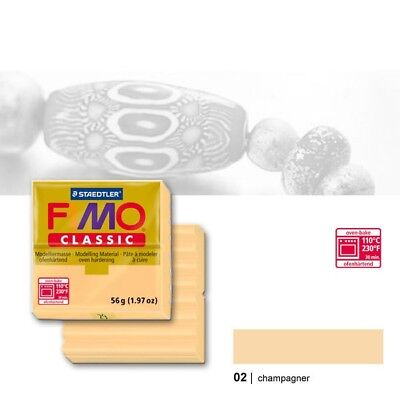 Fimo Classic, 02 champagner, 56g Modelliermasse
