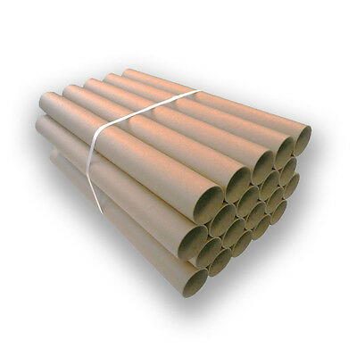 x20 Extra Strong Durable Brand New Cardboard Postal Storage Tubes with Caps