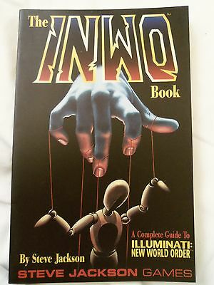 INWO ILLUMINATI New World Order Complete GUIDE BOOK Steve Jackson Games RPG 1995