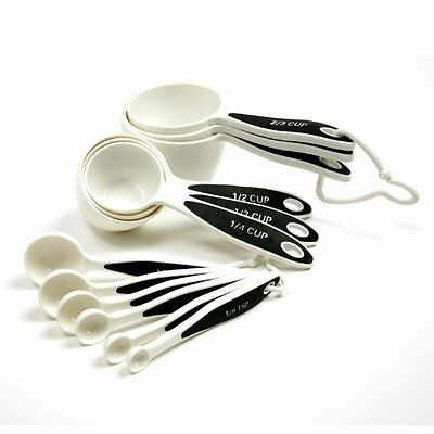 Norpro 3042 Grip-EZ 12-Piece Measuring Cup Spoon Set