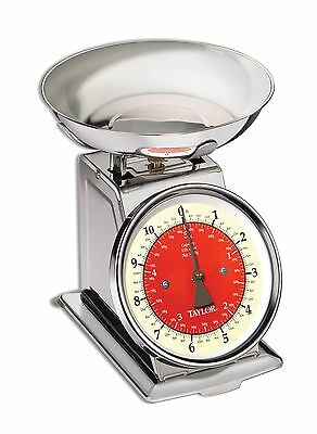 Taylor Precision Products Stainless Steel Kitchen Scale (11-Pound)