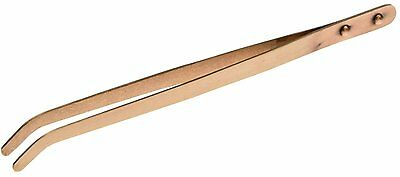 SRA Soldering Products Copper Tongs, Curved, 8-1/2-Inch