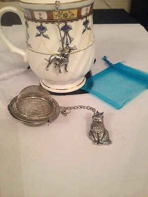 Cat 2inch Tea Ball Mesh Infuser Stainless Steel Sphere Strainer A15