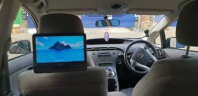 "9"" Car Headrest DVD Player In Car Portable DVD Player 9 inch Mounting Kit AV in"