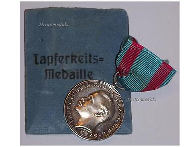 GErmany WWI Bravery Tapferkeit Military Medal Hesse Darmstadt German 1914 1918