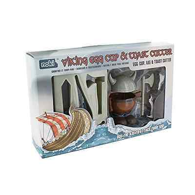 Paladone Viking Egg Cup And Toast Cutter Multi-Colour - SAME DAY DISPATCH
