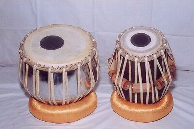 Professional Tabla Drums Iron Duggi Shesham Wood Dayan Tabla Cmh01 + Freeship