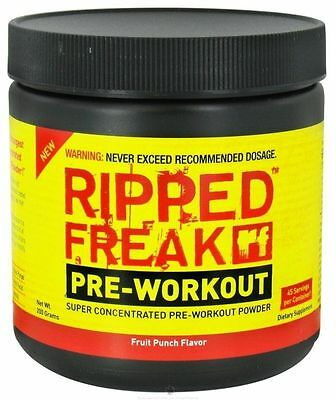 Pharma Freak Ripped Freak Pre-Workout - 200G Powder Supplement - All Flavours