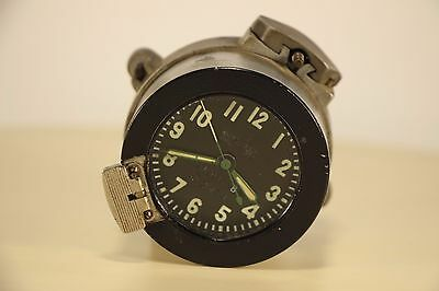Good! 117-ChS Clock for the Soviet tanks MADE in USSR AChS, Aircraft, MIG +Mount