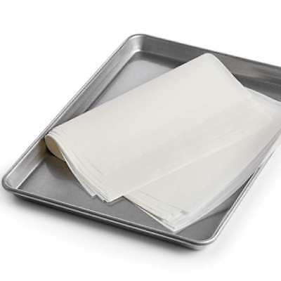 """Half Sheet Commercial Parchment Paper Pan Liner 100 Sheet of 12 x 16"""""""