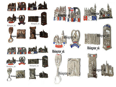 12 LONDON SOUVENIRS FRIDGE MAGNETS, UK Metal Bottle Opener Magnet, London Gift