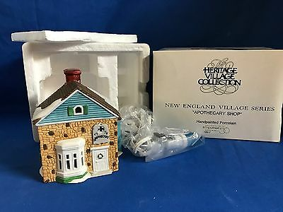 Dept 56 New England Village Lot of 22 Buildings &Accessories ALL NEW +Original 7