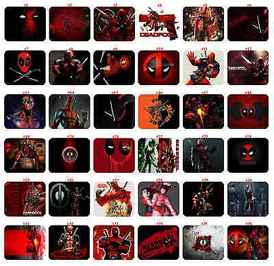 "Deadpool mousepad  "" Select Number Your Favorite Mousepad"""