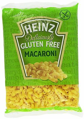 Heinz Deliciously Gluten Free Macaroni Pasta 500 g (Pack of 6) - UK SELLER