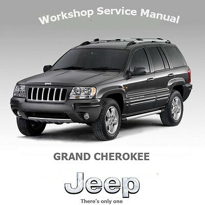 Jeep Grand Cherokee 1999-05 Workshop Service Manual