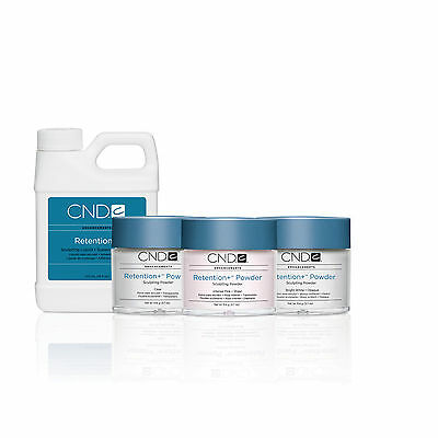 CND Powder & Liquid Retention + Powder 3.7oz 32oz Free Shipping!