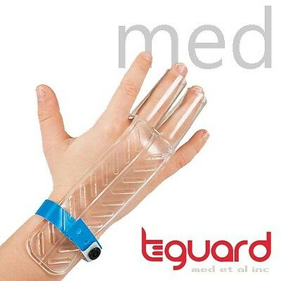 Treatment Kit to Stop Finger Sucking by TGuard brand FingerGuard (Size Medium: