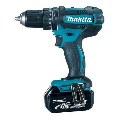 Makita Dhp482 Combi Drill With 3.0Ah Lithium Ion Battery Bl1830B