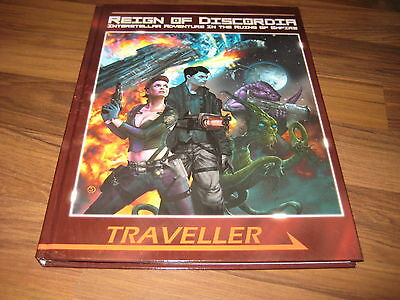 Traveller Reign of Discordia Campaign Setting 2009 Hardcover Mongoose MGP 6157