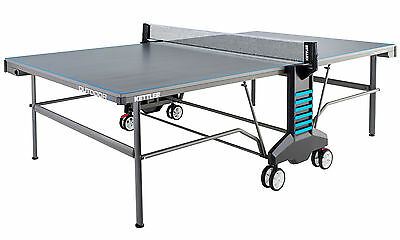 Kettler Classic 6 Outdoor Table Tennis Table With Bats, Balls & Cover