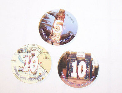 US Embassy Baghdad POGs 5 & 10 cents 2th Print  2013 - Non AAFES