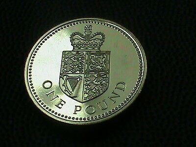 GREAT  BRITAIN    1  Pound    1988    PROOF