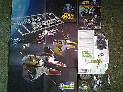 lot Star Wars POSTER maquette Revell FLYER expo ALLEMAGNE Identities dark vador