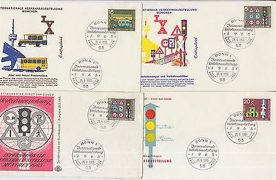 Traffic Exhibition Munich 1965 4 covers Germany