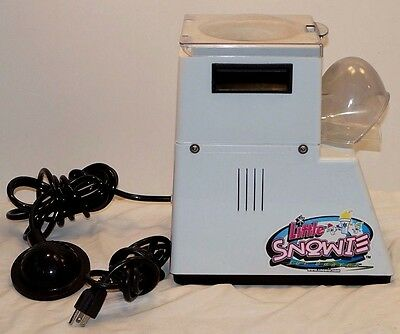 Snowie Shaved Ice Little Snowie Ice Crusher Snow Cone Ice Shaver Machine