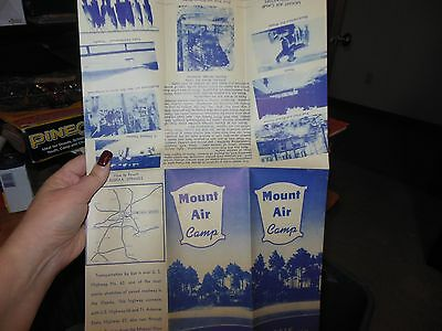 1940S Mount Air Camp Travel Brochure