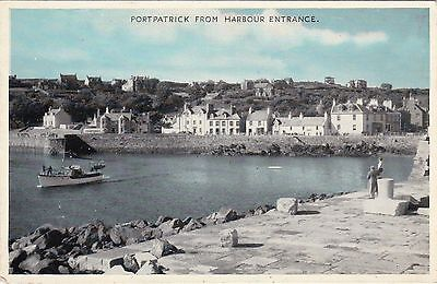 View From Harbour Entrance, PORTPATRICK, Wigtownshire