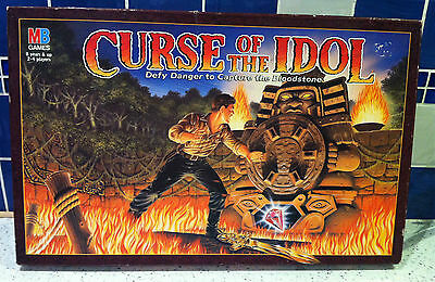 Vintage / Retro 1990's Curse Of The Idol Board Game - COMPLETE  MB Games