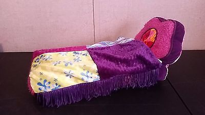 Groovy Girls Soft Plush Bed With Patchwork Comforter Quilt