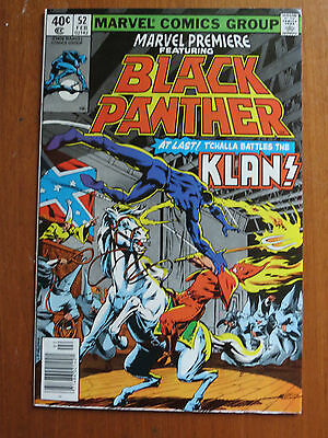 Marvel Premiere #52 Black Panther VF Nice Wow DC