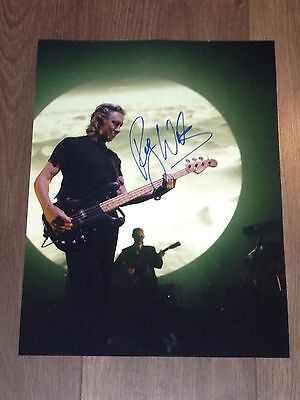 Authentic Roger Waters Signed  Huge 16 X 12 Photo Floyd..real Signature ...coa