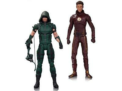 """DC COLLECTIBLES ARROW & THE FLASH 7"""" FIGURES from DCTV 2 TWO PACK"""