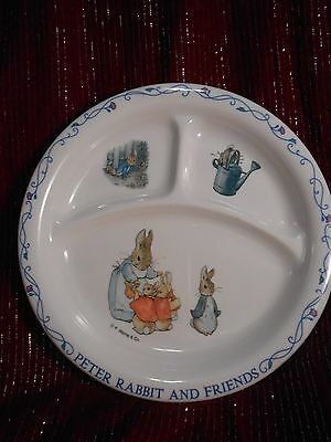 Beatrix Potter Baby Plate by Eden Separated Feeding Plate