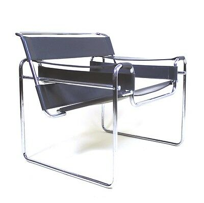 Vintage Pre Knoll  Edition of Marcel Breuer  B3  Wassily  Lounge Chair