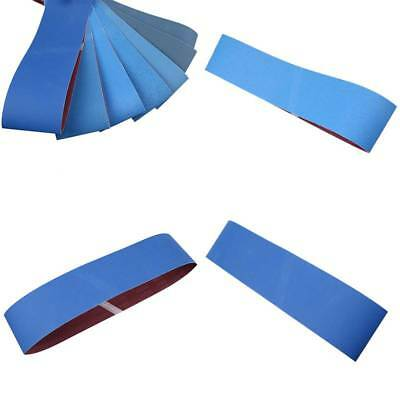 100mm x 915mm Blue Zirconia Abrasive Sanding Belts Polish Tool Price Per 3 Belts