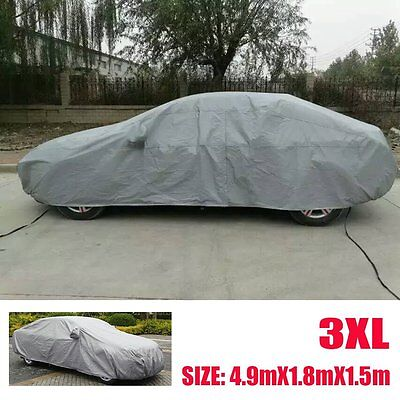 Car Cover Waterproof Outdoor Sun UV Snow Dust Rain Resistant Protection 3L