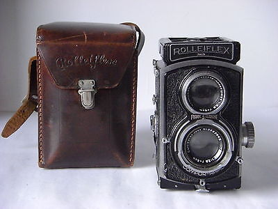 Rolleiflex 4x4 baby tipo B o SPORT anni 1938-1940 extremely rare.