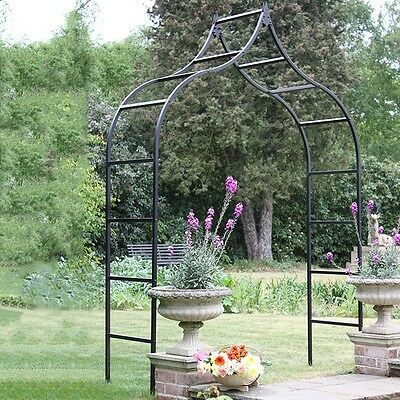 New & Unused Harrod Horticultural Ogee Garden Arch / Rose Arch - RRP £301
